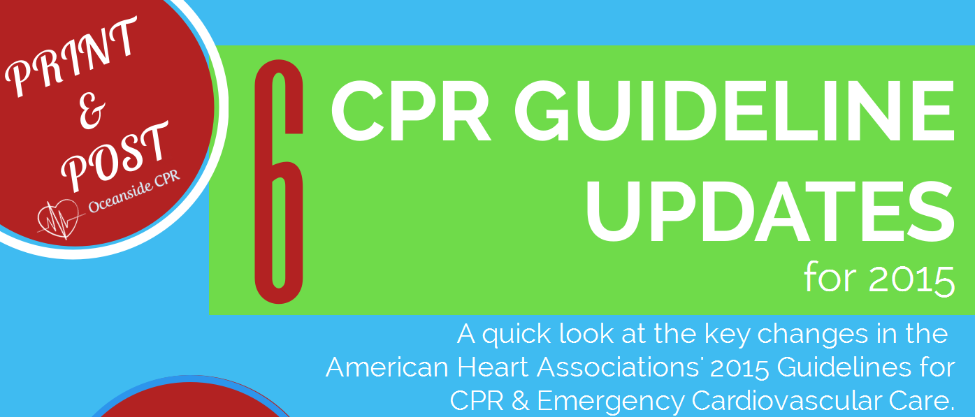 Top 6 American Heart Association CPR Guideline Changes